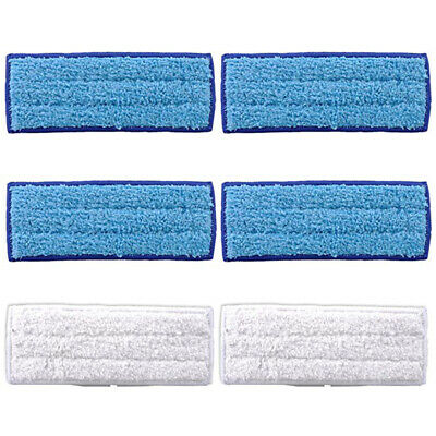 6pcs Mop Cloth Microfiber Mopping For IRobot Braava Jet 240/241 Vacuum Cleaner