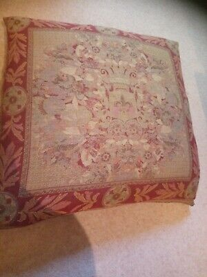 Laura Ashley Large Tapestry Cushion With Feather Filled Inner