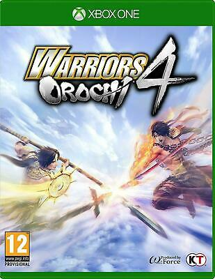 Warriors Orochi 4 Xbox One NEW SEALED DISPATCHING TODAY ORDERS PLACED BY 2 P.M.