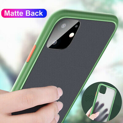 Shockproof Hybrid Bumper Hard Matte Back Case Cover for iPhone 11 Pro Max X XS 8