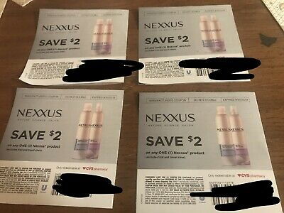 Nexus Coupons (4) - Save $2 Off Any Nexus Product $8 In Savings Expires 9/30/19