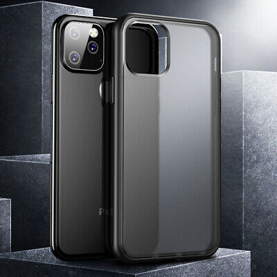 For iPhone 11 Pro Max X XS XR Hard Matte Back Case Slim Shockproof Bumper Cover