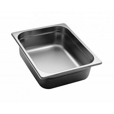 Pan Gastronorm Containers Stainless Steel Gn 1/2 Height 10 CM
