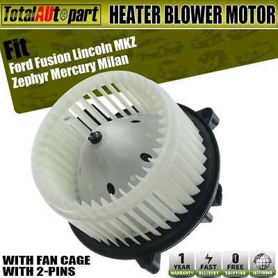 Heater Blower Motor w// Fan Cage for Mercury Ford Lincoln