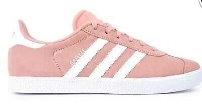 Adidas Originals Gazelle Pink Womens Girls Sizes 3 - 5.5 Genuine Sports Causal