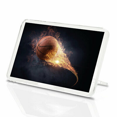 A2Basketball Flame Game Background Size A2 Poster Print Photo Art Gift #2572
