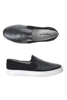 HAMAKI HO SHOES Sneaker Leather MADE IN ITALY Man Whites