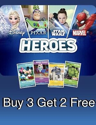 Sainsburys Heroes Trading Cards Opened Pack - 1 Card Of Your Choice (Green Card)