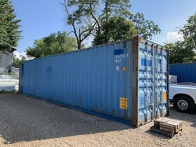 40 Foot High Cube Shipping Container Connex Storage Houston Texas