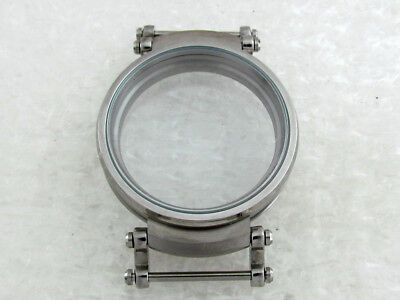 New Stainless Steel Case for Rolex, Omega, Longines Antique Swiss Watch Movement