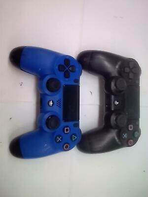 2 Pz Sony PLAYSTATION 4 PS4 Dualshock 4 Wireless Controller Difettoso, Non