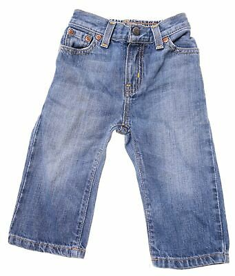 POLO RALPH LAUREN Boys Jeans 12-18 Months W18 L9 Blue Cotton  C201