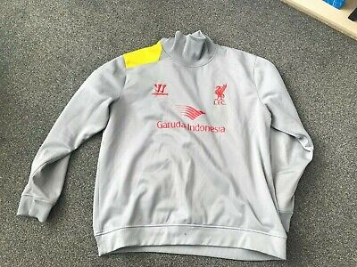 Liverpool Fc Warrior Grey Xxl Training Top Long Sleeved Used