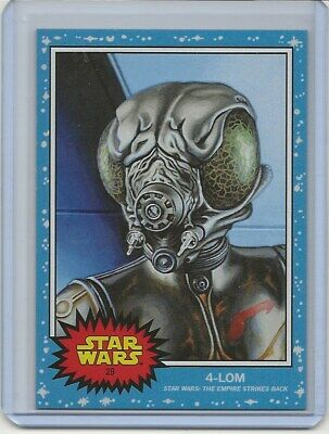Topps SW Living Set Card #30 - 4-LOM -  GREAT COLLECTION