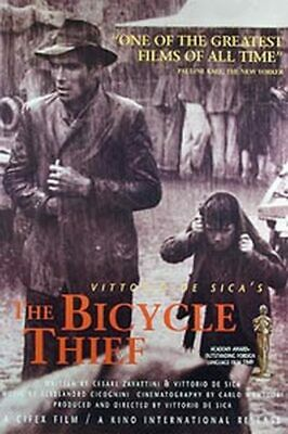 The Bicycle Thief (Single Sided) 50Th Anniversary) Original Movie Poster