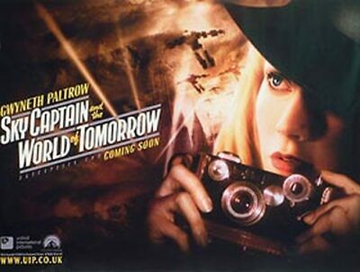 Sky Captain And The World Of Tomorrow (Advance Gwyneth) Original Movie Poster