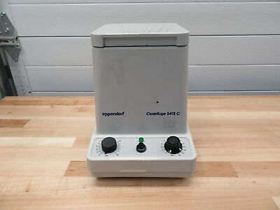 Eppendorf Centrifuge 5415C with rotor and cover F-45-18-11 14000 RPM