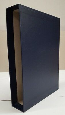 New Blue Slip Case to fit Lighthouse or Prinz 64 pp Stock Book