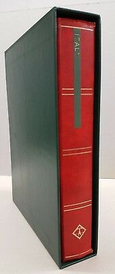 New Green Slip Case to fit Lighthouse or Prinz 64 pp Stock Book
