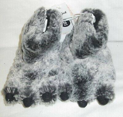 Soft Plush Furry Monster Sleepers Toddler Kids Boys Girls by Cat & Jack S 5/6