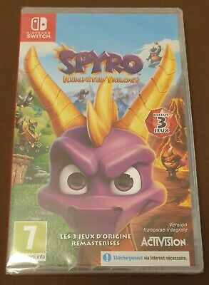 Spyro Reignited Trilogy - Nintendo Switch - Brand New Sealed