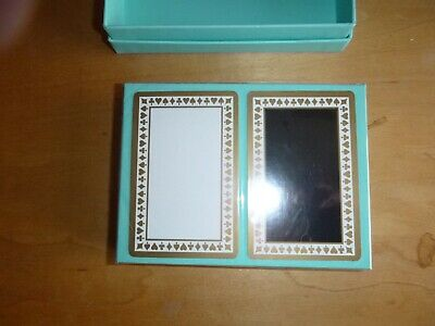 Tiffany & Co. Sealed Double Deck of Playing Cards- Never Been Used Tiffany Blue