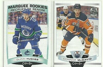 2019-20 O-Pee-Chee  Complete Set Maquee Rookies -Team Logos-Sh  1-600  19-20 Opc