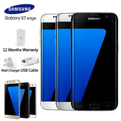 New Sealed Box Samsung Galaxy S7 Edge G935F LTE 32GB 4G Mobile 1Yr Warranty
