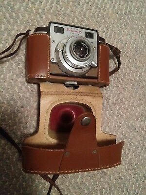 000 Vintage Kodak Bantam RF Camera In Leather Case