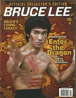 Topix  Bruce Lee Vol. 4 Official Collector's Edition Enter the Dragon NM