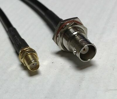 N Type Male to N Female Pick Your Length RG58 Coaxial Pigtail Cable USA
