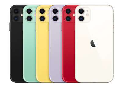 Apple iPhone 11- 256GB All Colors - GSM & CDMA Unlocked -1 Year Factory Warranty