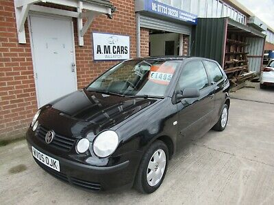 2005 Volkswagon Vw Polo Twist 1.2  , 3 Door In Black , New Clutch Fitted