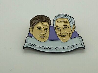 Ron Paul Libertarian Freedom Anarchist Pin Back Pro Crypto Bitcoin RARE Limited