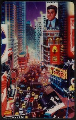 TeleCard World (New York 9/94) Times Square Puzzle Set of 3 (A.Chen) Phone Card