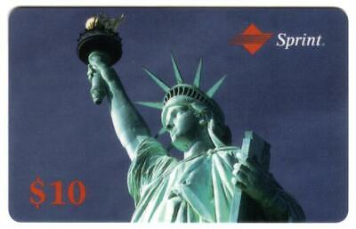 $10. Statue of Liberty (Expired 11/93) Japanese Phone Card