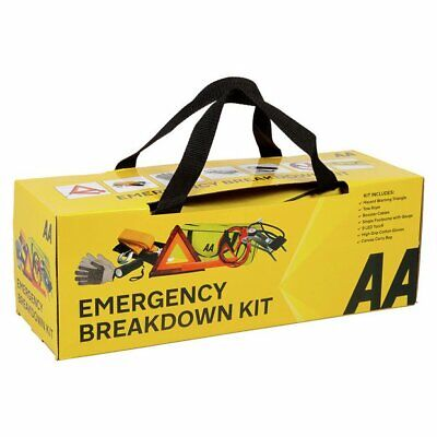 AA ULTIMATE EMERGENCY BREAKDOWN KIT inc 7 Pieces - Must have in any Vehicle!