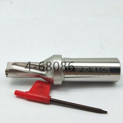 SP-16.5-C25-2D U drill indexable drill 16.5mm C25-2D FOR SPMG050204 Φ16.5-2D