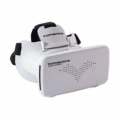 3D VR Glasses, Topmaxions Virtual Reality Headset 3D Viewing Goggles Audio &