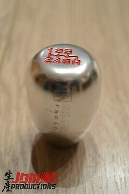 SILVER Skunk2 Style 6 Speed Gear Knob Shifter Honda Civic Type R EP3 EP2 FN2 DC5