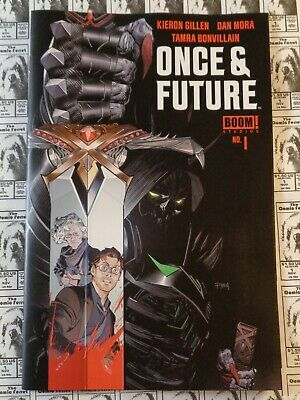 Once and (&) Future (2019) Boom - #1, 1st Print, Kieron Gillen/Dan Mora, NM