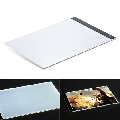 A4 USB LED Art Stencil Board Light Tracing Drawing Sketching Pad Table Box Panel