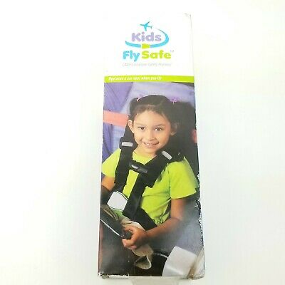 Kids Fly Safe Cares Airplane Safety Harness Open Box Free Shipping