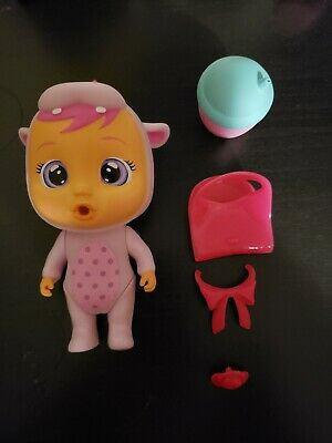 Cry Babies Magic Tears Mini Dolls Hopie Hippo Pre-owned with accessories