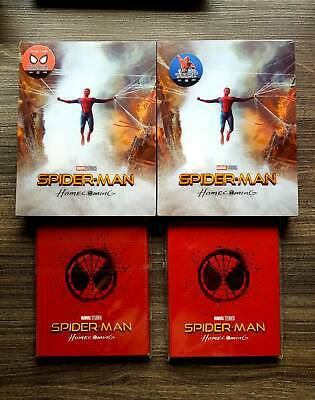 Spider-Man Homecoming 4K 3D (Blu-ray SteelBook) (Blufans OAB30) [China] + Magnet