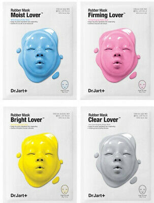 Dr.Jart+ Dermask Rubber Mask(Moist Lover,Bright Lover,Firming Lover,Clear Lover)