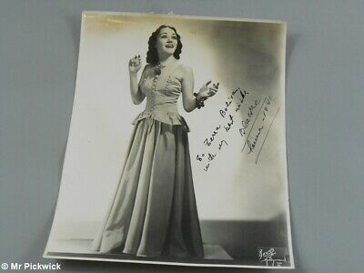 "Old Movie Actor Photo Signed ""Blackie"" 1941"