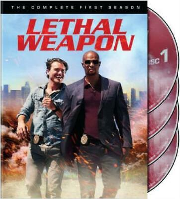LETHAL WEAPON: THE COMPLETE FIRST SEASON (Region 1 DVD,US Import,sealed.)