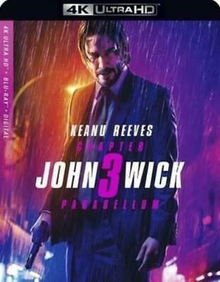 JOHN WICK: CHAPTER 3 - PARABELLUM (Region Free UHD BluRay,US Import,sealed.)