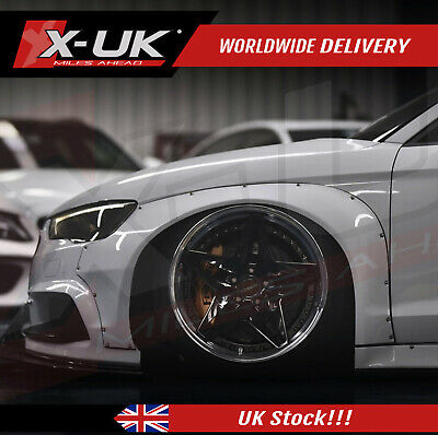 Audi A3 / S3 8V 2012-2015 Wide body wheel arches + side skirts fits saloon